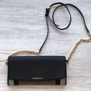 Burberry crossbody/ wallet